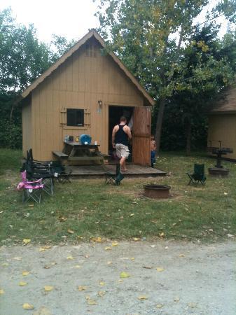 Our cabin picture of camp sandusky sandusky tripadvisor for Camp joy ohio cabins