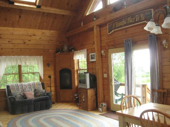 A Beautiful Place: family room