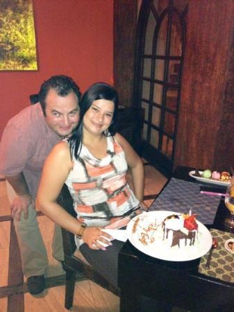 El Dorado Restaurant: cumpleaños de mi esposa