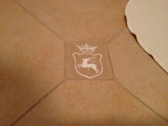 Hotel Kosciuszko: The bathroom tiles