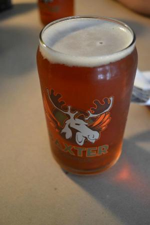 Dogfish Cafe: Baxter beer