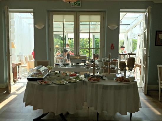 Hotel Kosciuszko : The breakfast buffet