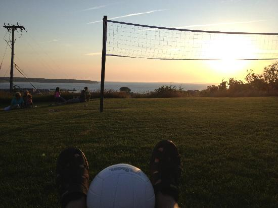 Montauk Manor: nothing like a sunset volleyball game