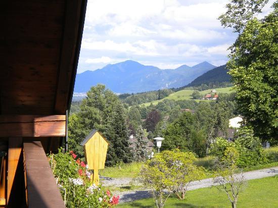 Moor & Mehr - BIO Kur-Hotel Bad Kohlgrub: VIEW FROM ROOM