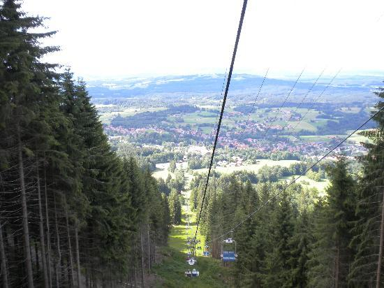 Moor & Mehr - BIO Kur-Hotel Bad Kohlgrub: VIEW FROM THE CHAIRLIFT