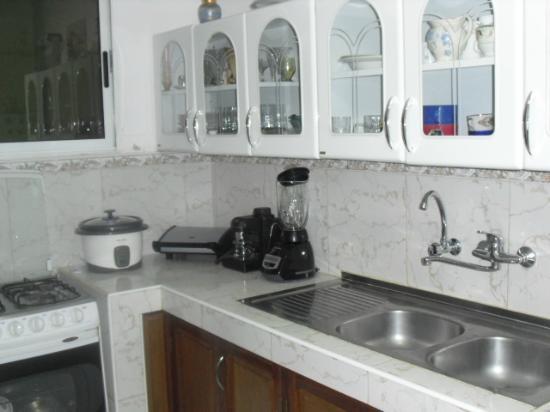 Casa Maura Habana Vieja: parte de la cocina
