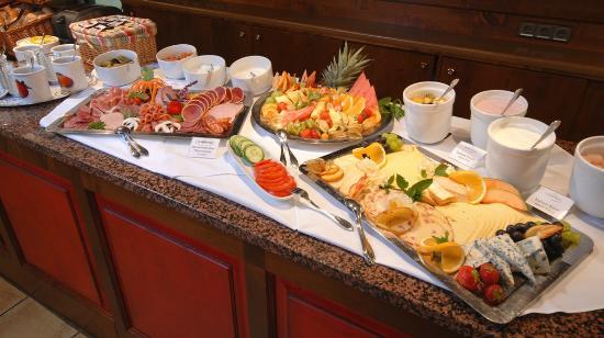 Hotel Saigerhütte: Frühstücksbuffet