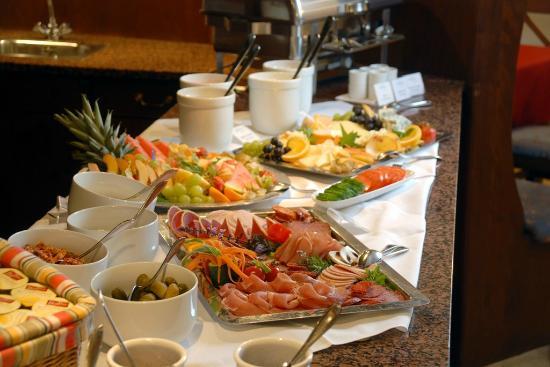 Hotel Saigerhütte: Fühstücksbuffet