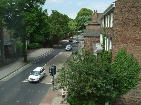 The Crescent Guest House: view from side-window