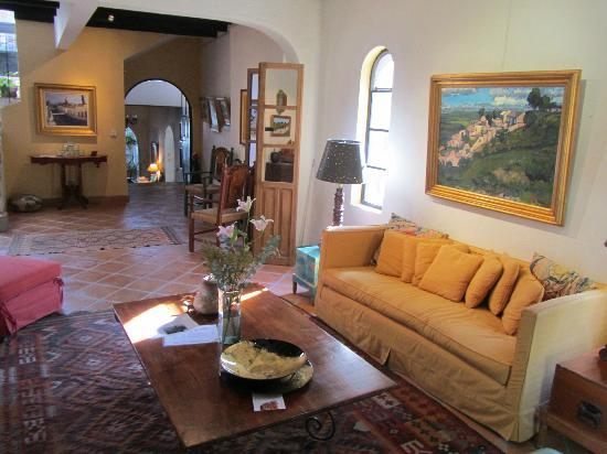 Casa de la Noche: the main sala in the front of the house