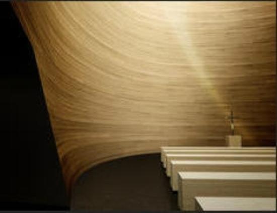 Kamppi Chapel of Silence : inside