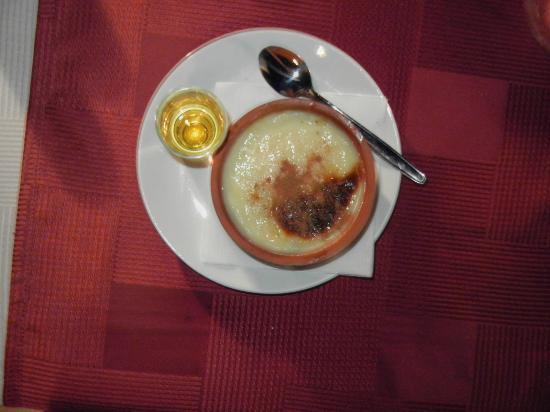 Paparazzi Restaurant: Divine Turkish rice pudding and raki