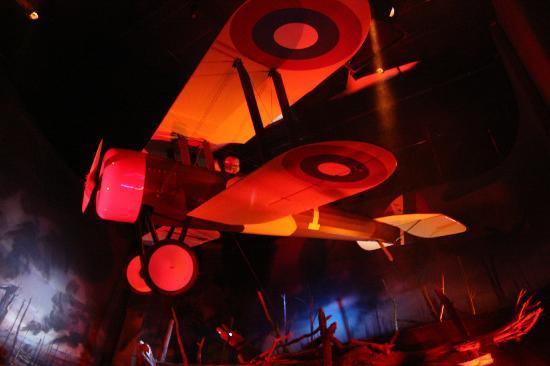 Fantasy of Flight: dioramma scene