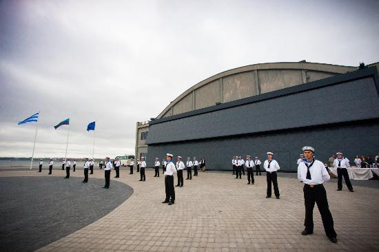 Estonian Navy at the opening of the new museum (44219504)
