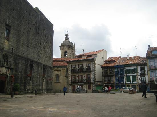 Hotel Obispo: The Parador plaza.