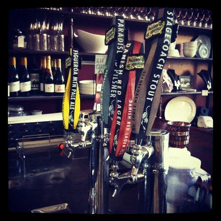 Gather Wine Bar : Six beers on tap