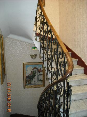 Hotel Cronstadt: charming stairway