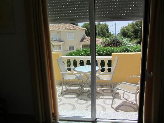 Hotel Montemar: terraza de la habitación
