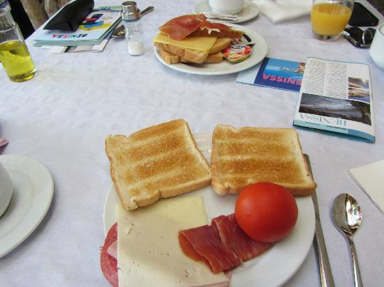 Hotel Montemar: desayuno buffet