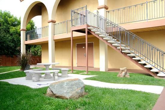 Motel Mediteran: Hotel grounds