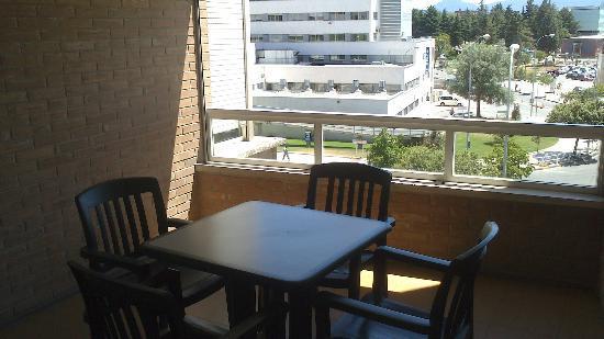 Sercotel Apartaments Mendebaldea: Terraza