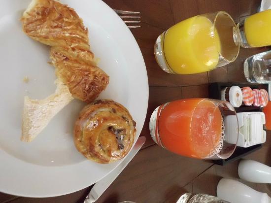 Hyatt Regency Villahermosa: Algo del buffet de desayuno