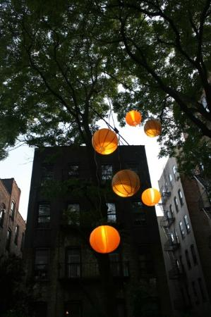 Jumel Terrace Bed and Breakfast: Night lights