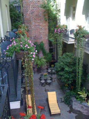 Bienville House: off our balcony