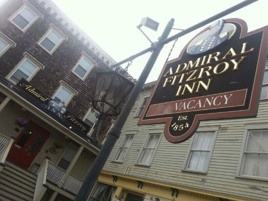 Admiral Fitzroy Inn: At the entrance