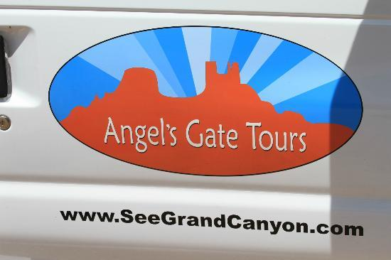 Angel's Gate Tours : Logo