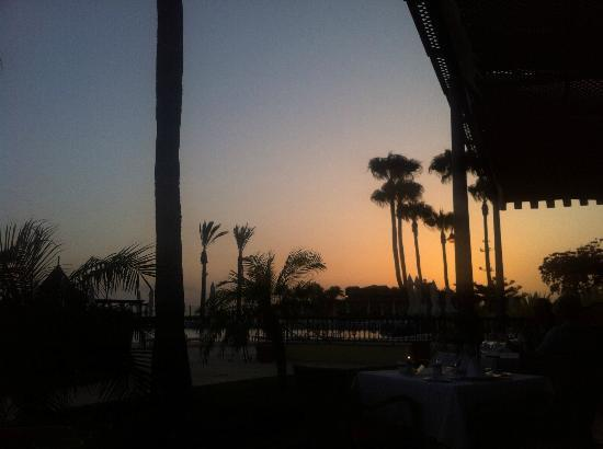 IBEROSTAR Grand Hotel Salome: Sunset from the Portofino Restaurant