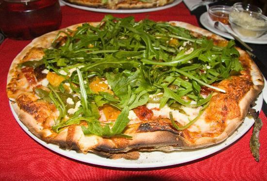 Pomodoro: Butternut, Feta and Rocket Pizza