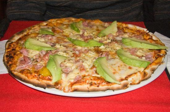 Pomodoro: Avocado and Ham Pizza