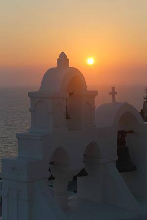 Zorzis Hotel: Sunset in Oia.
