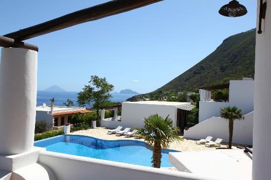 Hotel Principe di Salina: Blick aus dem Zimmer