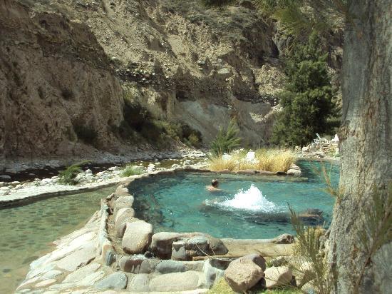 Hotel & Spa Termas Cacheuta: Aguas Termales