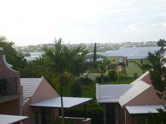 Fourways Inn: view from our balcony