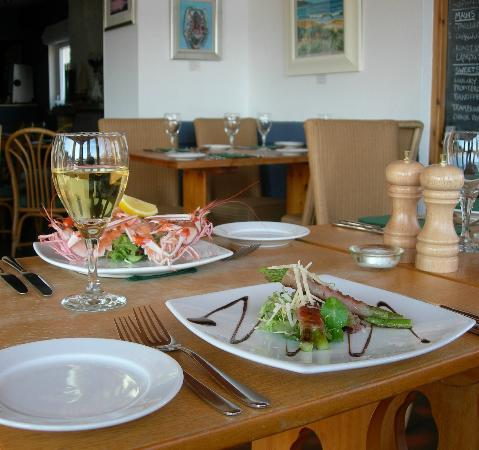 The Tayvallich Inn: Fresh Seafood