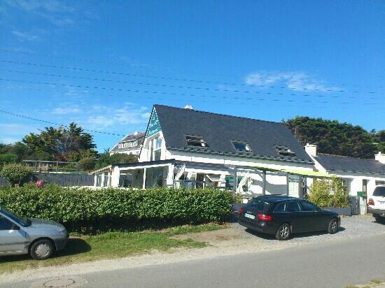 Saint-Gildas-de-Rhuys, Prancis: le vert d'O