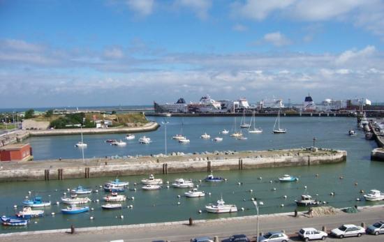 Holiday Inn - Calais : La vue de notre chambre préférée