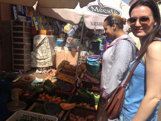 Riad Elizabeth : Food shopping
