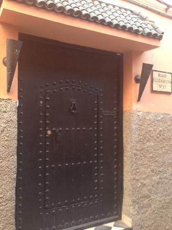 Riad Elizabeth: Front door