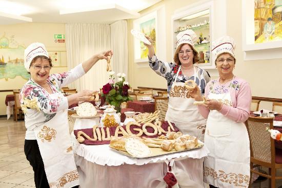 Hotel Villa Gori: Le tre sorelle: Loredana, Simonetta e Mariella