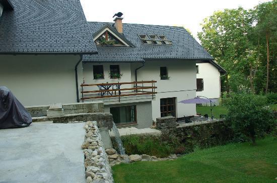 The Millhouse: Udsigt fra ladedæk