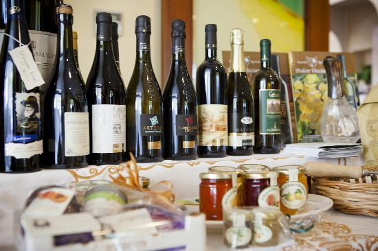 Hotel Villa Gori: Vini e prodotti tipici