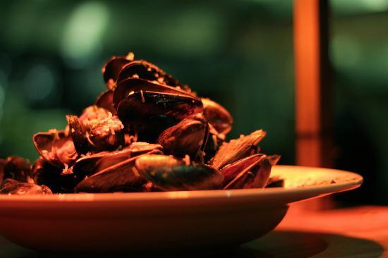 Reef's Restaurant: Moules au Lait de Coco