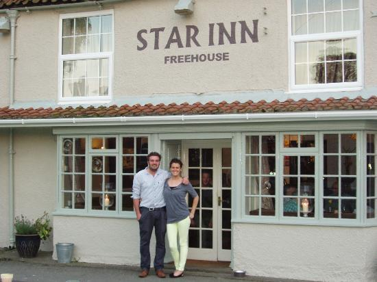 The Star Inn : Will and Ali the landlord and landlady of The Star