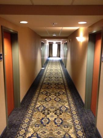 Hampton Inn & Suites Jamestown : hallway