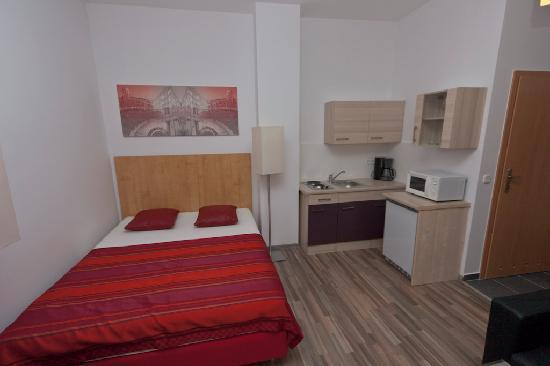 Queens Apartments: Studio für 2 Personen