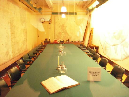 Map Room of Winston Churchill - Picture of Churchill War Rooms ...